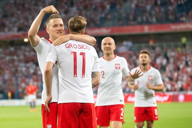 Piotr Zieliński i Kamil Grosicki /AFP
