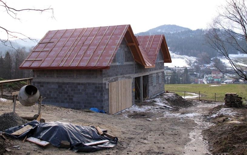 Piotr Żyła i jego żona Justyna zdecydowali się wybudować dom w Wiśle. Zdjęcie z 2015 roku /Tomasz Jagodziński /East News
