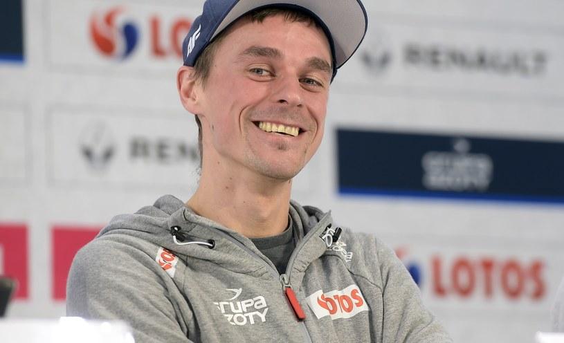 Piotr Żyła od pewnego czasu jest zakochany w Marcelinie Ziętek / Mieszko Piętka /AKPA