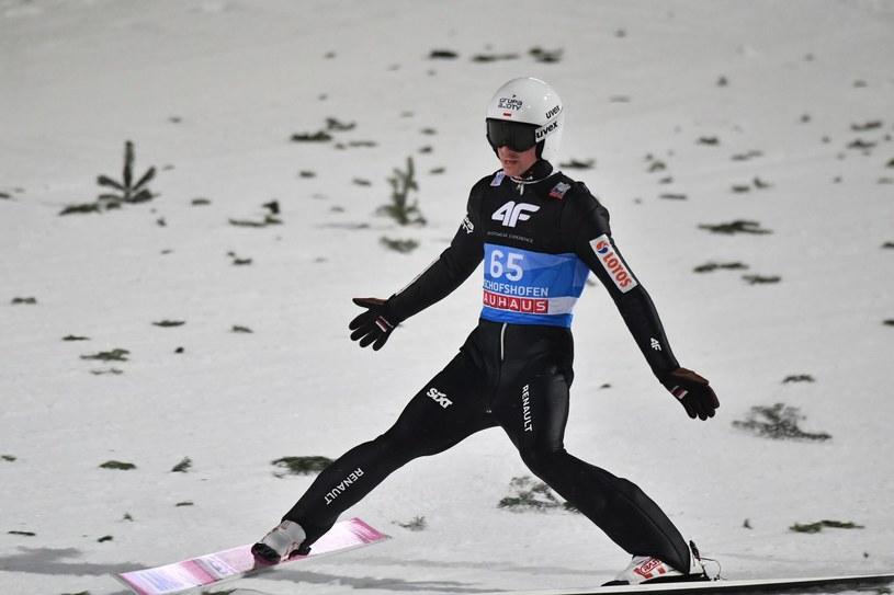 Piotr Żyła utrzymuje wysoką formę /AFP