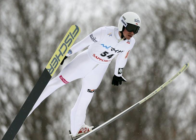 Piotr Żyła w Sapporo /PAP/EPA