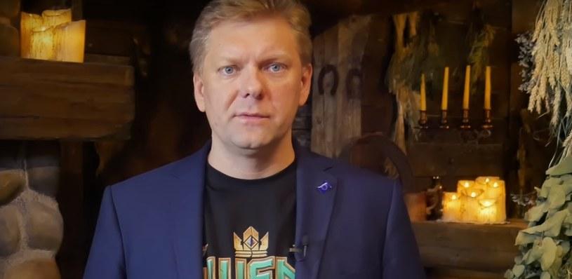 Piotra Nielubowicza, wiceprezes ds. finansowych - fragment wypowiedzi zamieszczonej w serwisie YouTube.com/ na kanale: CD PROJEKT RED /materiały źródłowe