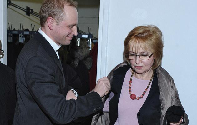 Piotrek z mamą /- /MWMedia