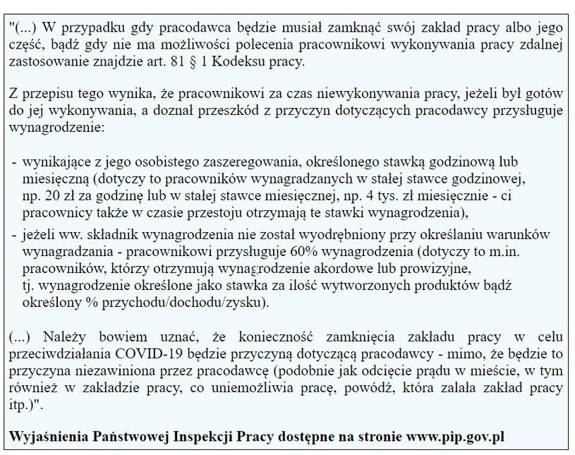 PIP spawdza przestoje /Gazeta Podatkowa