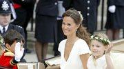 Pippa Middleton dźwiga zakupy w ciąży