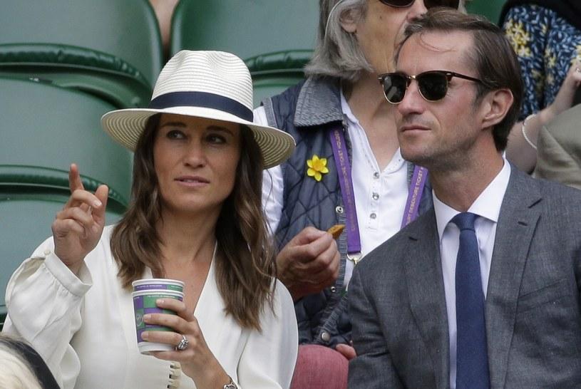 Pippa Middleton i James Matthews spodziewają się dziecka /Associated Press/East News