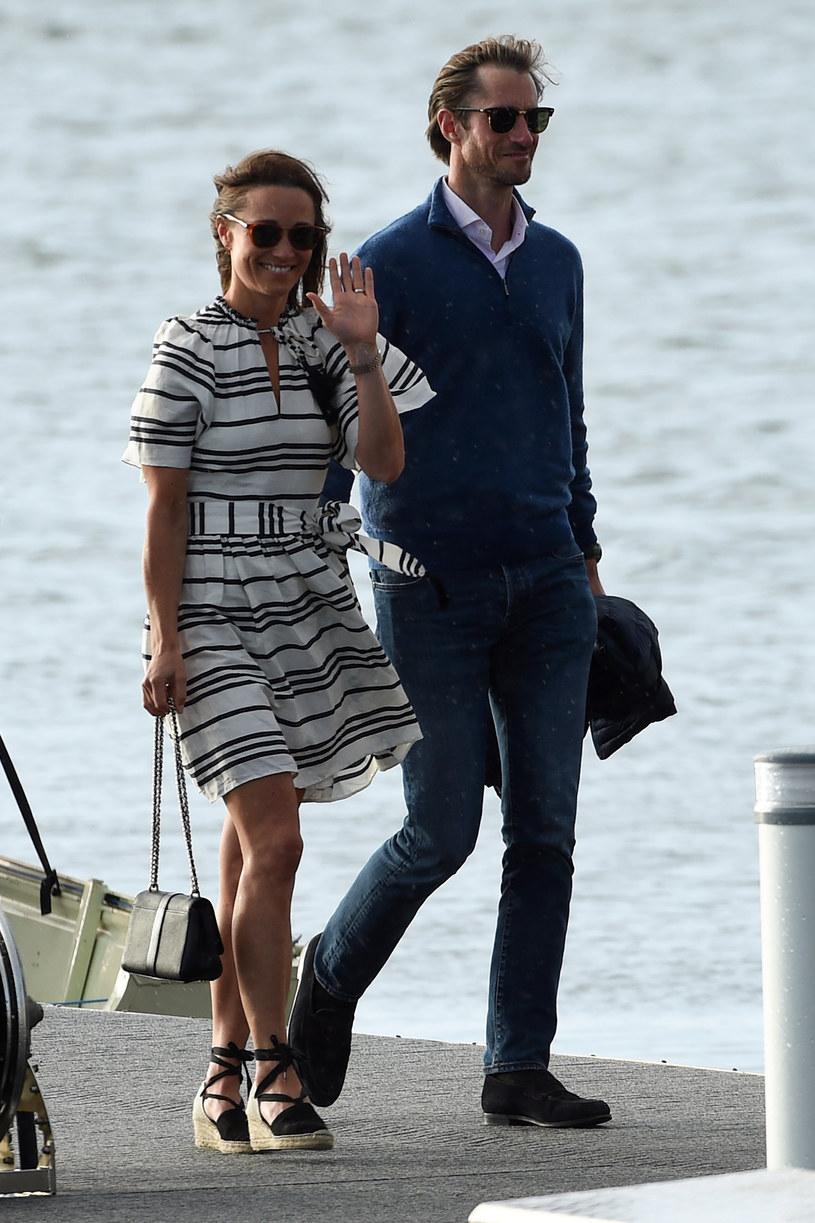 Pippa Middleton i James Matthews /AFP