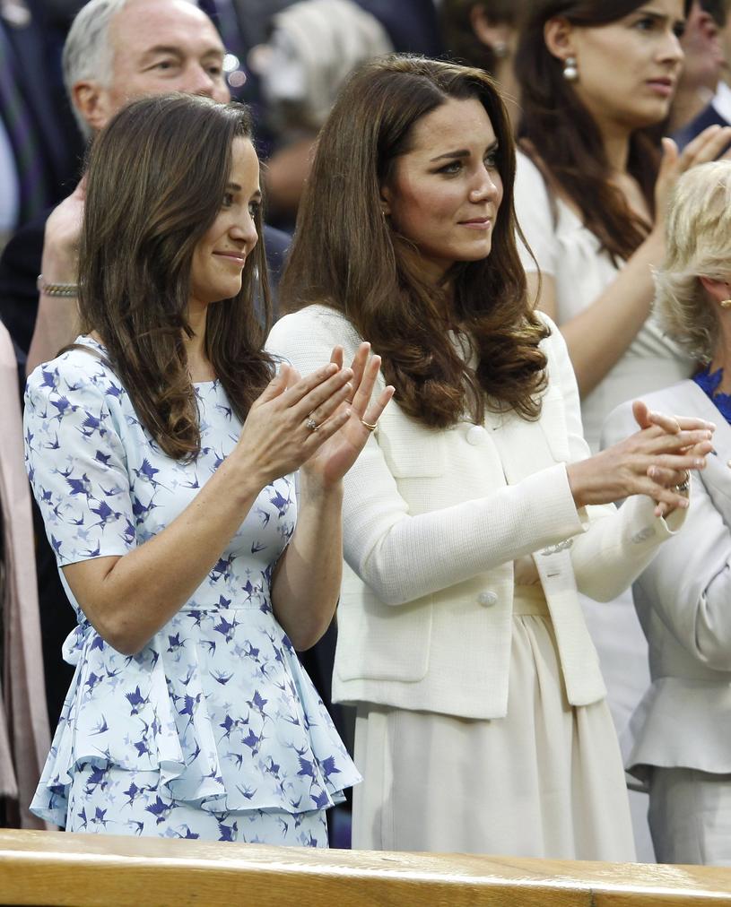 Pippa Middleton może liczyć na pomoc swojej siostry Kate /East News