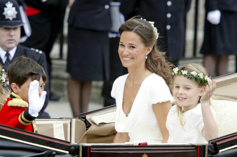Pippa Middleton na ślubie księżnej Kate i księcia Williama /East News