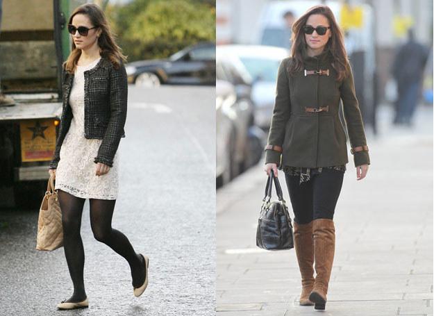 Pippa Middleton wie, jak maskować krótkie nogi /East News