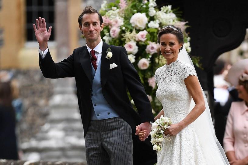 Pippa Middleton wyszła za Jamesa Matthewsa 20 maja 2017 roku /AFP