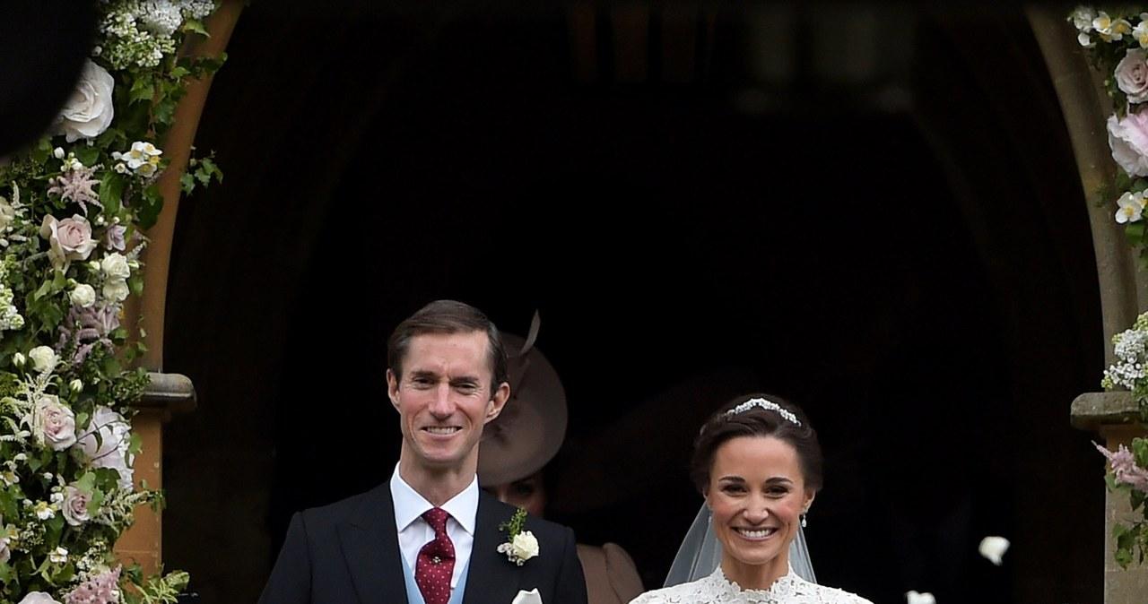 Pippa Middleton wyszła za mąż za milionera Jamesa Matthewsa