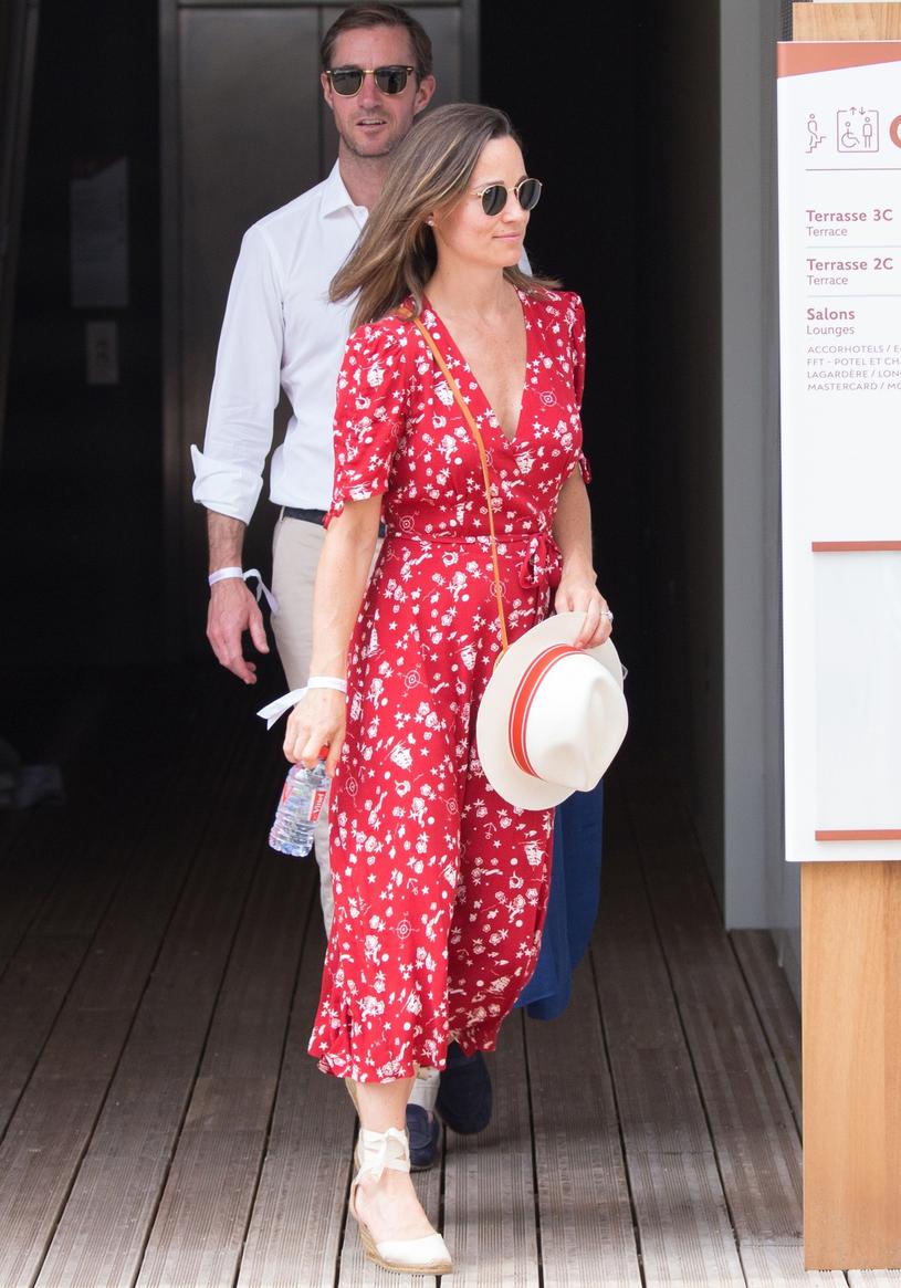 Pippa Middleton z mężem /Berzane Nasser/ABACA /East News