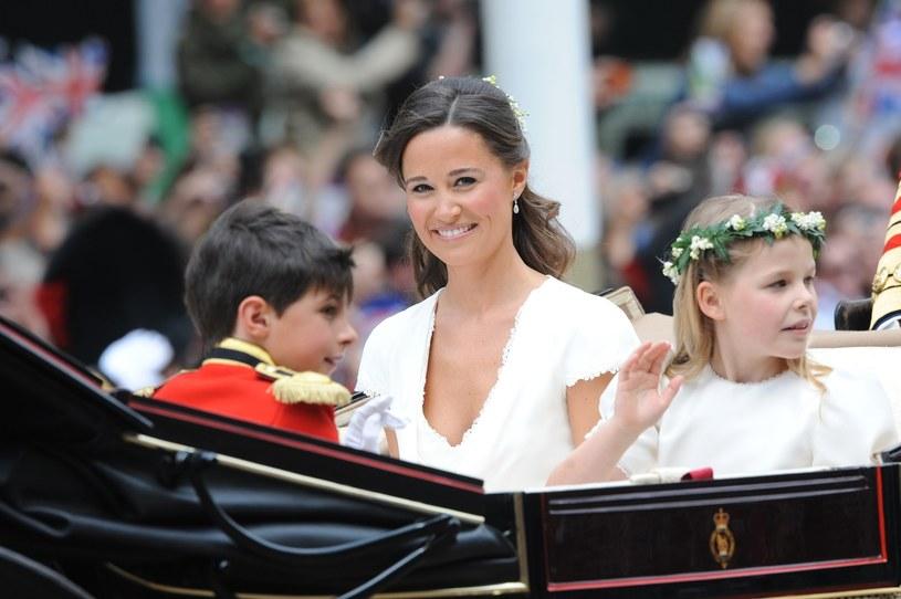 Pippa od czasu ślubu księżnej Kate i księcia Williama jest ulubienicą brytyjskich mediów /East News