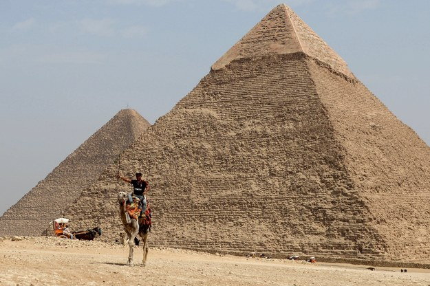 Piramida Cheopsa /MOHAMED HOSSAM /PAP/EPA