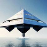 Piramida? Statek kosmiczny? Nie, to luksusowy jacht