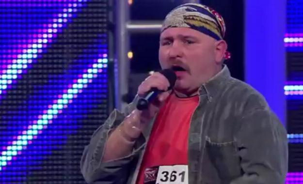 """""""Pirat"""" pionierem ery naturszczyków? - fot. """"X Factor"""" /TVN"""