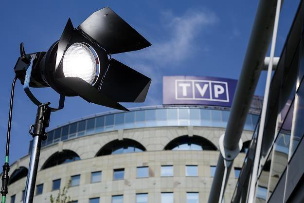 """""""PiS boi sie prawdy o mediach publicznych, a zwłasza o TVP"""". Fot. Michał Dyjuk /FORUM"""