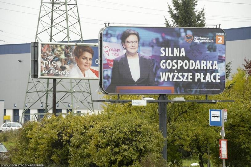 PiS kontra PO /Wojciech Strozyk/REPORTER /East News