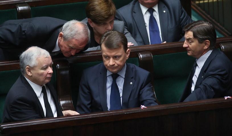 PiS nie przywiązuje wagi do sytuacji wewnętrznej Platformy /Rafał Guz /PAP