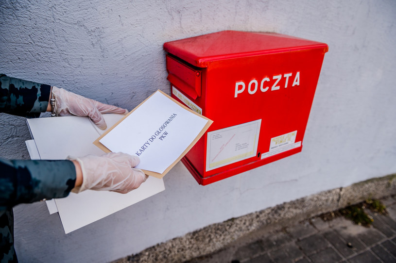PiS opowiadał się za tym, by 10 maja wybory odbyły się w głosowaniu korespondencyjnym /Marcin Bruniecki/ Reporter /Reporter