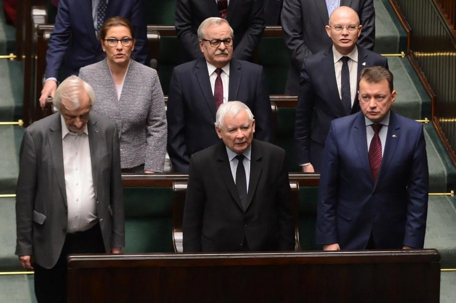 """PiS opublikował oświadczenie ws. materiałów opublikowanych przez """"Gazetę Wyborczą"""" / Jakub Kamiński    /PAP"""