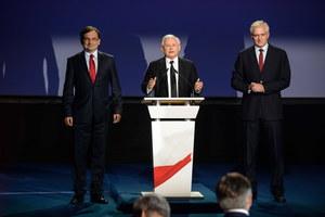 PiS, Polska Razem i Solidarna Polska podpisały porozumienie