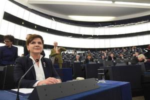 PiS: Sukces premier w PE. Opozycja: Poparcie tylko od eurosceptyków
