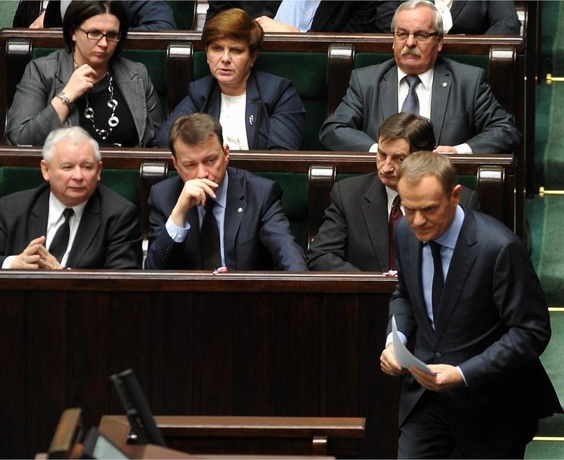 PiS utrzymuje przewagę nad PO /Witold Rozbicki /Reporter