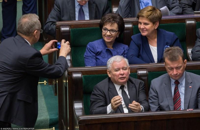 PiS walczy o samodzielne rządy /Andrzej Iwańczuk /Reporter