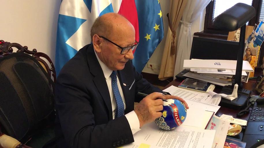 Pisanka prezydenta Rzeszowa /Józef Polewka /RMF FM