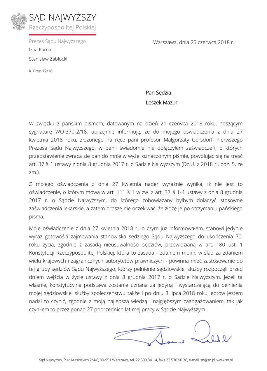 Pismo do szefa KRS /RMF FM