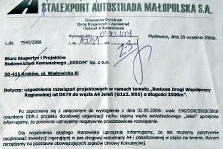 Pismo Stalexportu - zobacz powiększenie /RMF