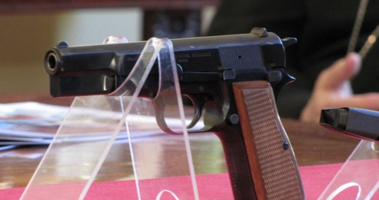 Pistolet Ali Agcy można zobaczyć w papieskim muzeum w Wadowicach