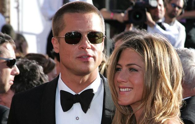 Pitt i Aniston, fot. Carlo Allegri  /Getty Images/Flash Press Media