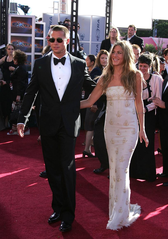 Pitt i Aniton rozwiedli się w 2005 roku /Carlo Allegri /Getty Images