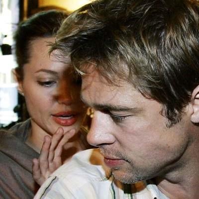 """Pitt i Jolie planują """"prosty, ale elegancki"""" slub. /AFP"""