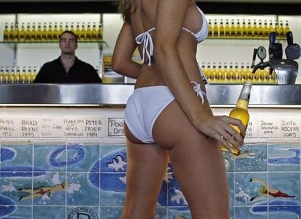 Piwo piwem, ale jaka kobieta... /AFP