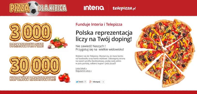 Pizza dla kibica /Interia.pl /INTERIA.PL