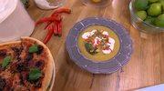 Pizza, focaccia i zupa buddyjska, czyli Aleksandra Szwed i Marcin Przytulski razem w kuchni