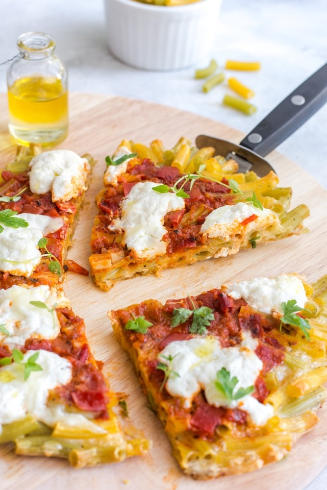 Pizza makaronowa /materiały prasowe