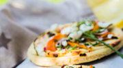 Pizza warzywna z bryndzą