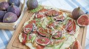 Pizza z bekonem i figami