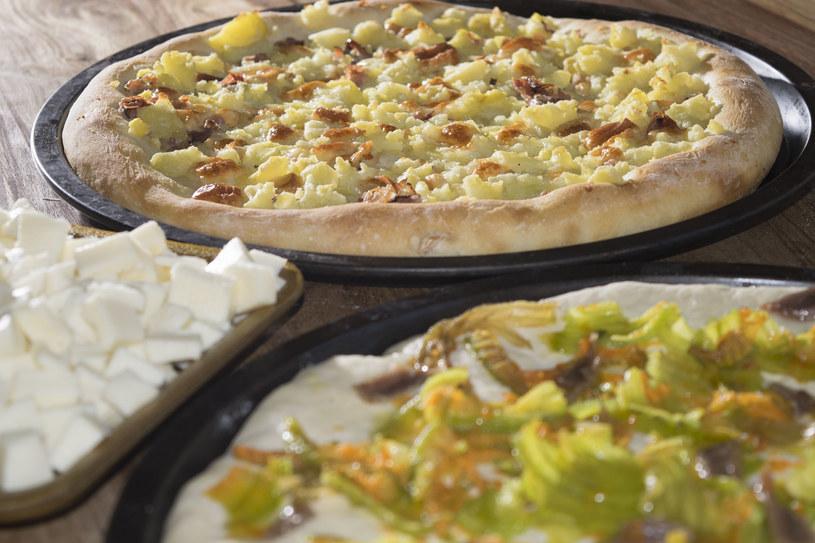 Pizza z cukinią /123RF/PICSEL