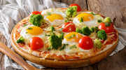 Pizza z jajkiem