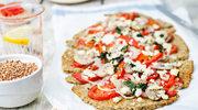 Pizza z kozim serem