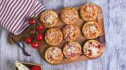 Pizza z mielonym mięsem w wersji mini