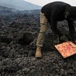 Pizza z wulkanu. Niebezpieczna praktyka kulinarna z Gwatemali