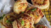 Pizzowe ślimaczki