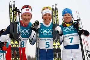 Pjongczang 2018. Charlotte Kalla mistrzynią olimpijską w biegu łączonym 2x7,5 km